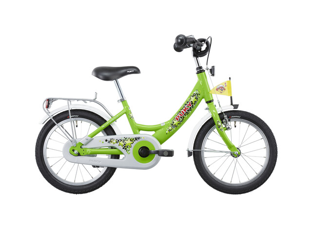 """Puky ZL 16-1 Bicicletta bambino 16"""" Alu verde"""